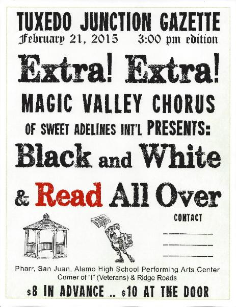 Magic Valley Chorus has accepted an invitation from Communities in ...